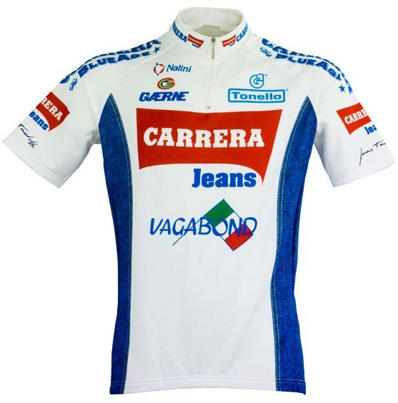 Carrera Jeans White Pro Team Cycling Jersey