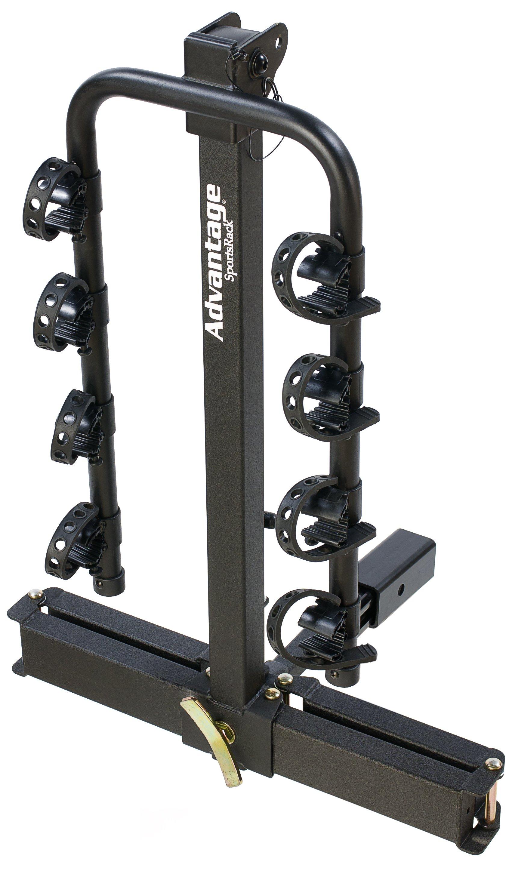 pin rhino hitch mount carrier bike rack platform
