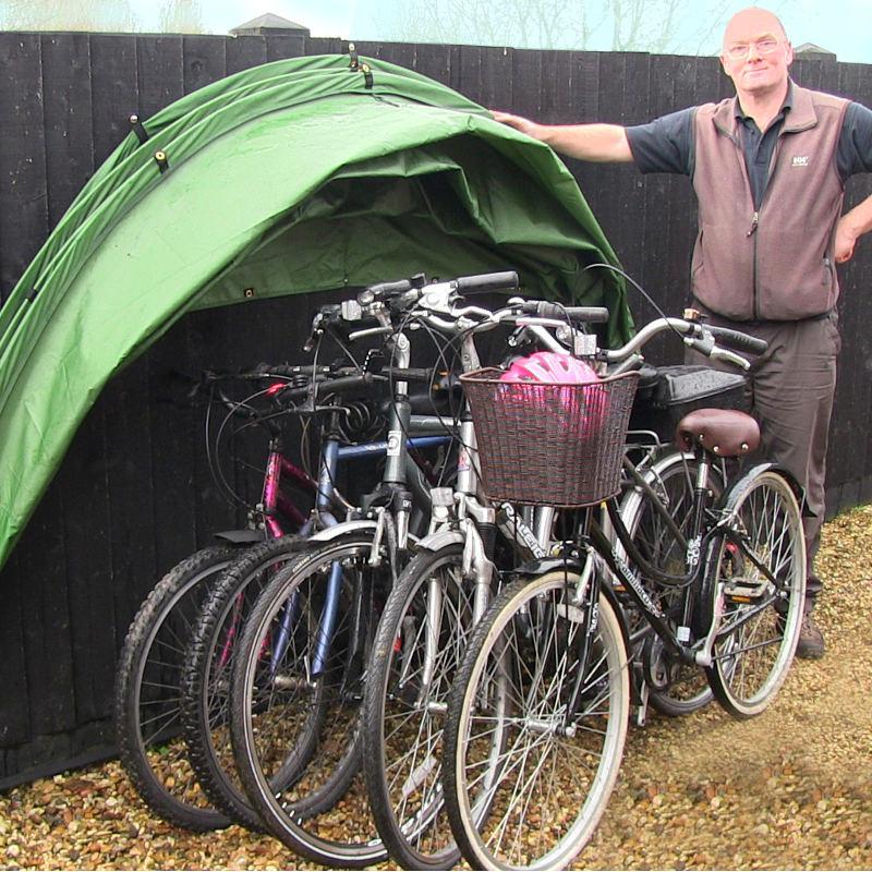 the hideyhood 90 outdoor bicycle storage system. Black Bedroom Furniture Sets. Home Design Ideas