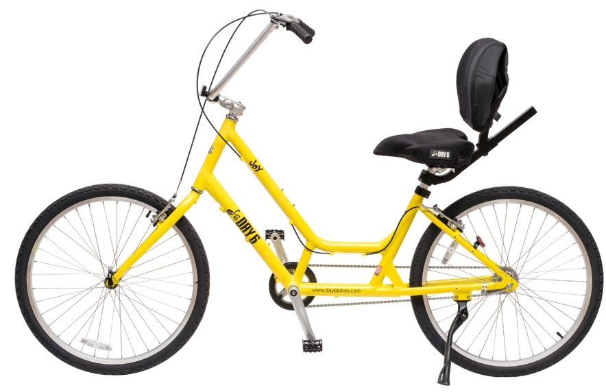 Day 6 Joy Semi-Recumbent Single Speed Aluminum Beach Cruiser