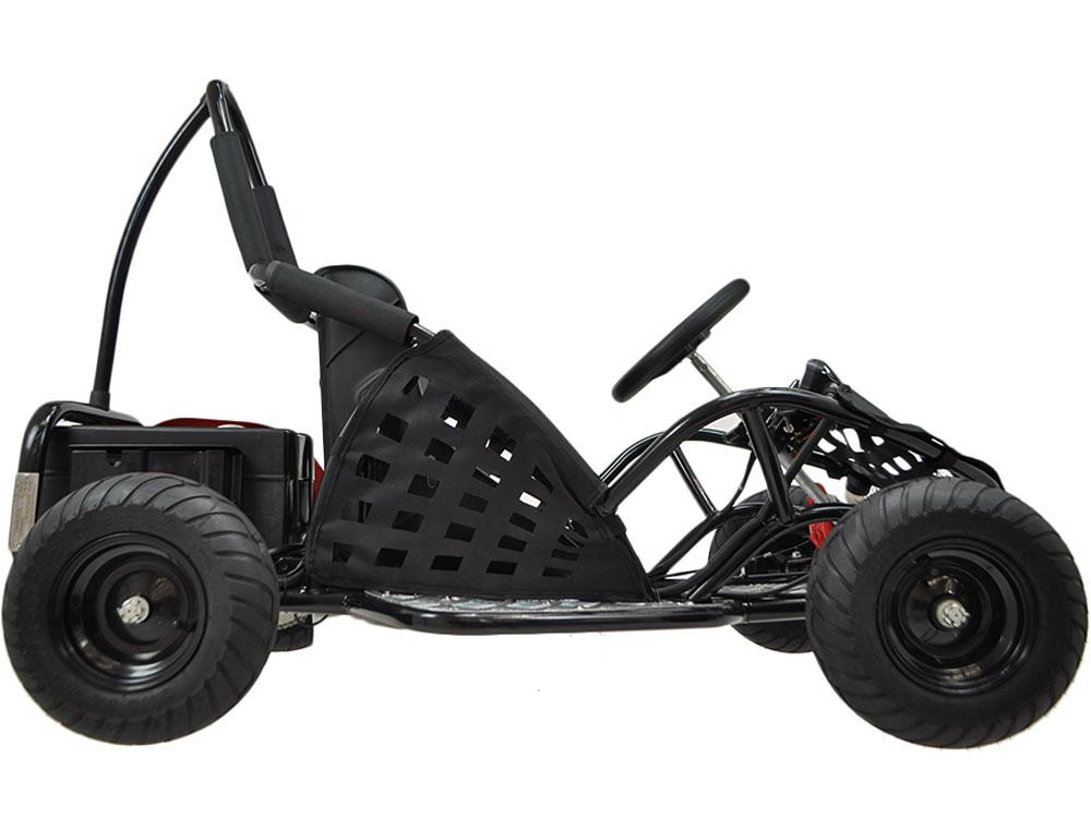 MotoTec Off Road Go Kart 48v 1000W - Black