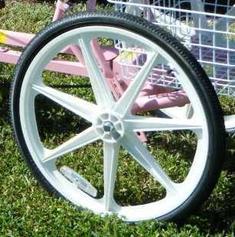 Trailmate 24 Mag Wheel For Ez Roll Regal Or Desoto Single Wheel