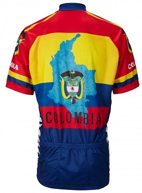5202cca75 World Jerseys Colombia Cycling Jersey